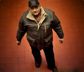 Jan  Dyba, tworca nowohukich budek Osrodek Kultury im. C. K. Norwida