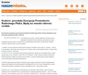 http://krakow.naszemiasto.pl/artykul/1565215,krakow-powstala-asocjacja-promotorow-radosnego-ptaka-beda,id,t.html
