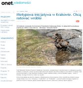 http://wiadomosci.onet.pl/regionalne/krakow/nietypowa-inicjatywa-w-krakowie-chca-ratowac-wrobl,1,5270668,region-wiadomosc.html