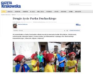 Gazeta Krakowska (22.04.2013)