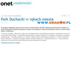 park duchacki onet