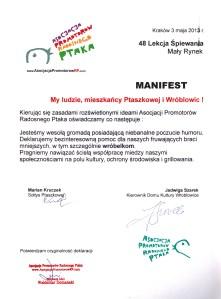 [przeczytaj Manifest z 3 maja 2013 roku