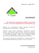 Manifest Leroy Merlin